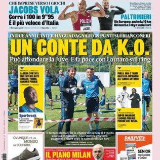 Lo sport sui giornali: la nostra rassegna stampa