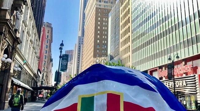 Samp, una bandiera a New York per ricordare lo scudetto del 1991