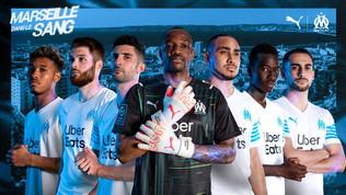 OlympiqueMarsiglia, ecco le maglie per la nuova stagione