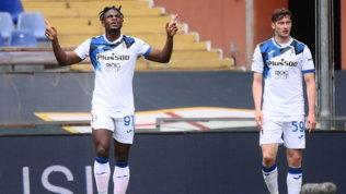 Genoa-Atalanta: gol e spettacolo