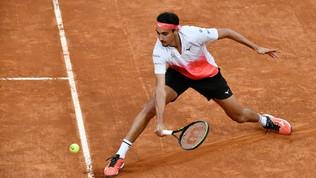 Djokovic affronta Sonego in semifinale: gli scatti del match