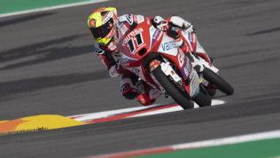 Garcia conquista la Francia, primo podio per Rossi
