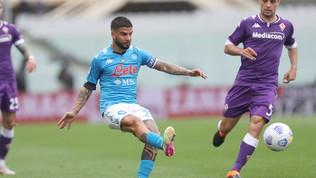 Serie A LIVE: Fiorentina-Napoli 0-1 | Gol di Insigne, sbaglia il rigore poi ribadisce in rete