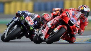 Miller sontuoso sul bagnato, doppietta Ducati con Zarco