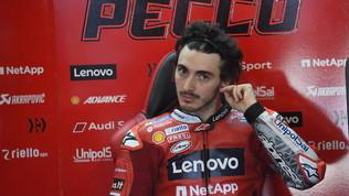 """Bagnaia: """"Mi sono divertito"""". Bilancio positivo per Petrucci e Rossi"""