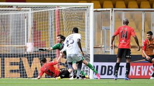 Simy agguanta il pareggio al 93', il Benevento è quasi spacciato