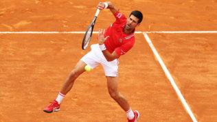 Internazionali d'Italia, Djokovic-Nadal: gli scatti del match