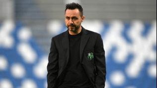 """De Zerbi, addio al Sassuolo: """"Apice raggiunto, non posso fare meglio"""""""