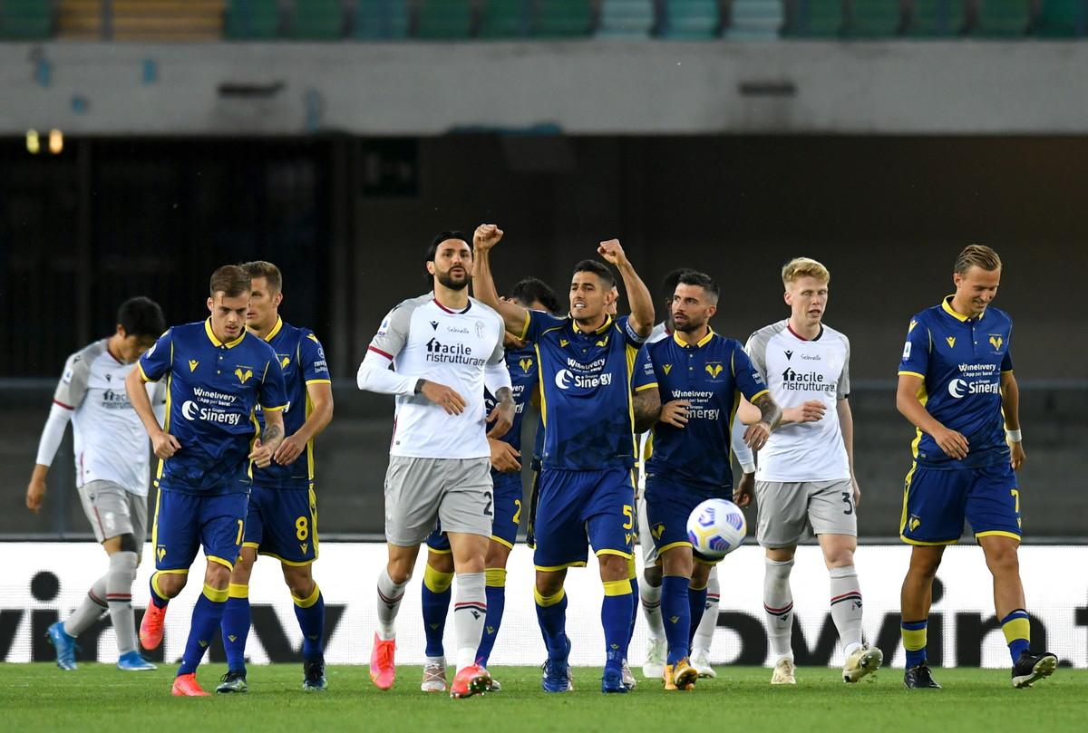Le migliori immagini di Verona-Bologna 2-2<br /><br />