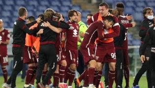 Pari con la Lazio: due pali salvano il Torino e retrocedono il Benevento
