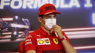 """Leclerc: """"Gara speciale, vogliamo stare subito dietro Mercedes e Red Bull"""""""