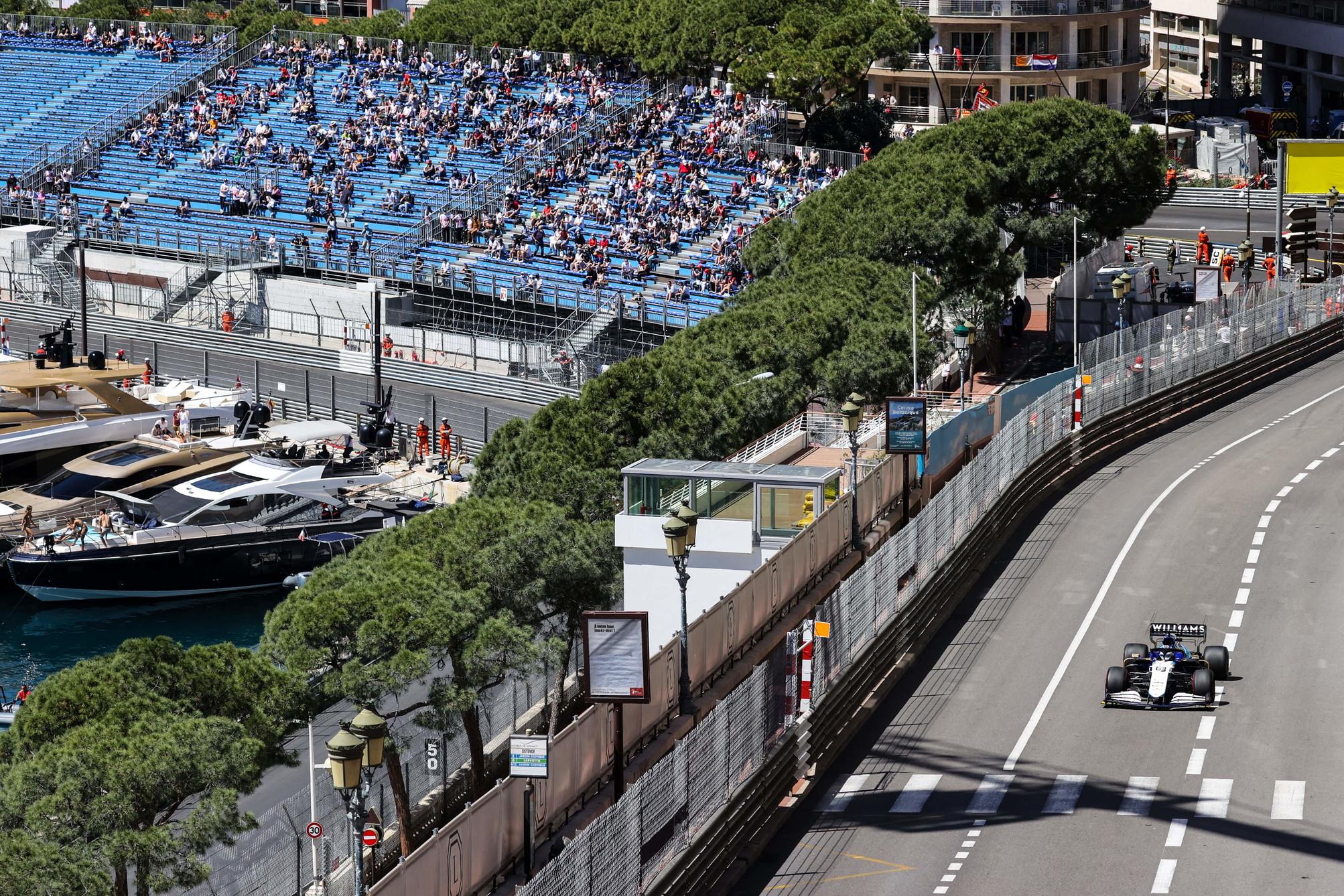 Prima giornata di libere per il GP di Monaco, che torna dopo lo stop dell&#39;anno scorso causa Covid.<br /><br />