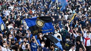 Inter Campione, in1000 allo stadio e festa fuori per 4500 tifosi