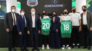 """Il Sassuolo lancia """"Generazione S"""": progetto per promuovere principi etici"""