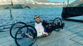 Travolto da un tir mentre si allena con l'handbike: grave atleta del team Zanardi