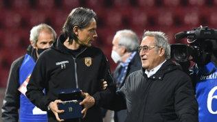 Benevento in B, il presidente Vigorito punisce la squadra: a Torino in pullman
