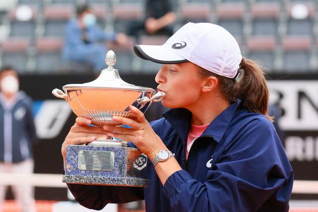 Iga Swiatek conquista Roma e la TOP10.