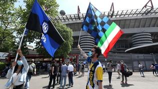"""L'Inter ai tifosi: """"Rispettate le norme anti-Covid"""". Coppa in pubblico?"""