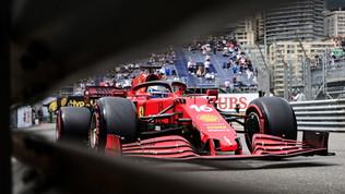 Leclerc, pole da padrone di casa