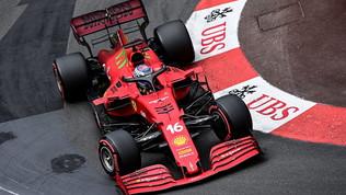 """Leclerc: """"Pole emozionante, finale sfortunato"""". Sainz amareggiato"""