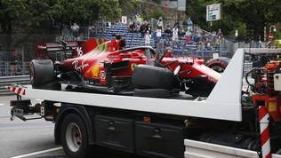 Leclerc, muro da pole a Monaco