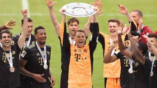 Bundesliga, festa scudetto per il Bayern Monaco