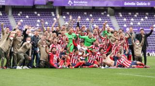 Atletico campione, i Colchoneros festeggiano l'11° titolo