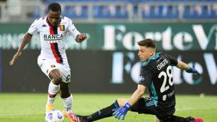 Il Genoa scopre Kallon: esordio con gol (annullato) dopo l'arrivo col barcone