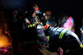 Una bufera si abbatte su una corsa in montagna in Cina: 21 morti