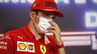 """Leclerc deluso: """"Non sappiamo cosa sia successo"""""""