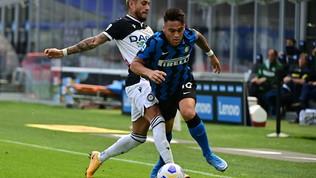 Inter-Udinese, le immagini del match