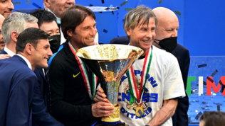 """Conte: """"Dedico lo scudetto a me stesso, soddisfatto di aver vinto qui"""""""