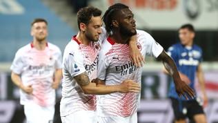 Milan, la Champions è realta: Kessie stende l'Atalanta
