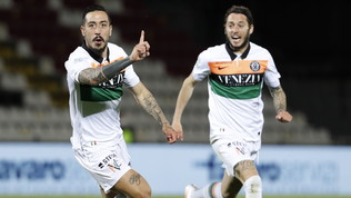 Il Venezia vede avvicinarsi la promozione, Cittadella piegato 1-0