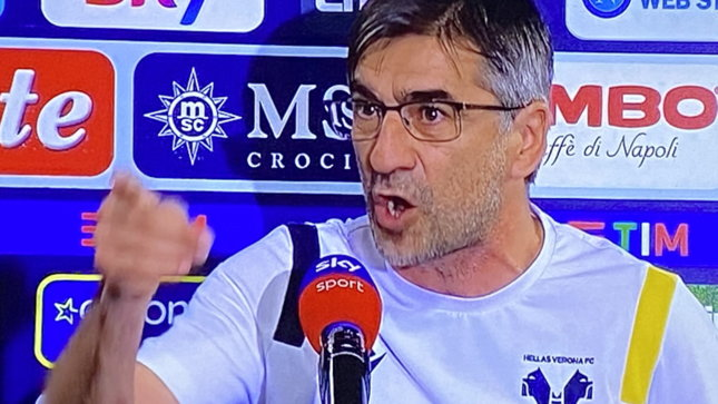 """Furia Juric conl'intervistatore: """"Che cagata, non avete rispetto"""""""