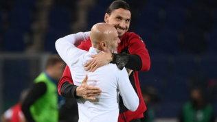 """Ibrahimovicesulta e ringrazia i tifosi: """"Non siamo soli"""""""
