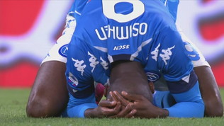 Napoli-Verona 1-1: gli highlights