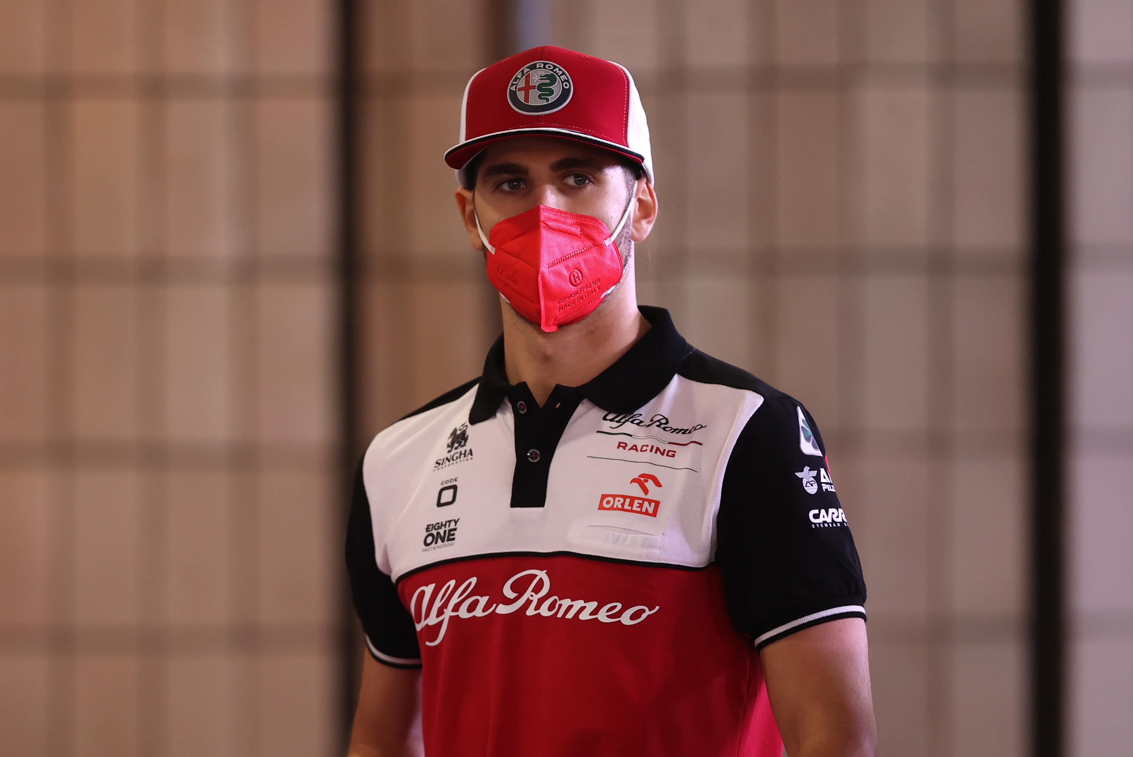 Antonio Giovinazzi (pilota F1 Alfa Romeo)
