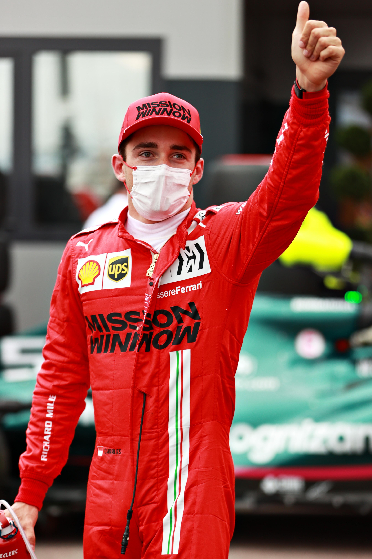 Charles Leclerc (Pilota F1 Ferrari)