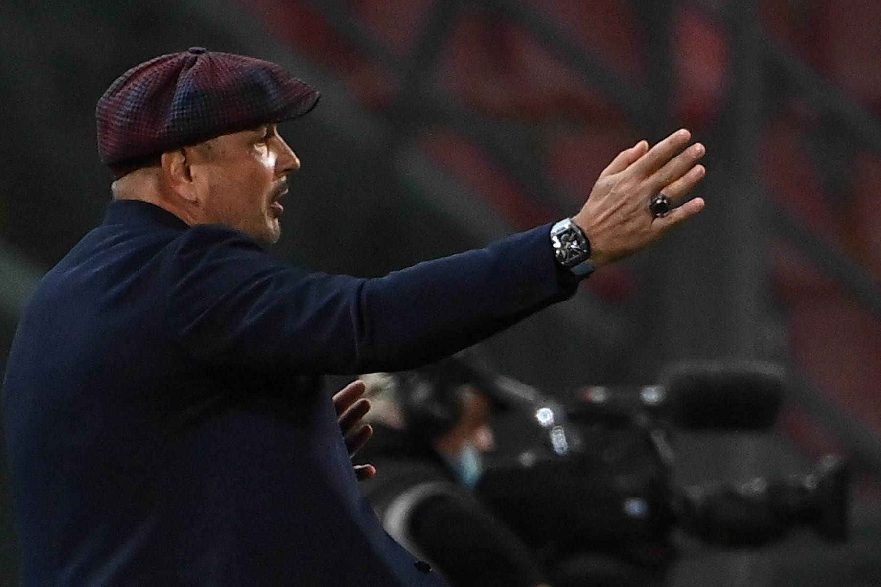 Sinisa Mihajlovic (allenatore Bologna)