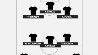 La Top XI di Serie A: Gigio in porta, tridente CR7-Lukaku-Muriel