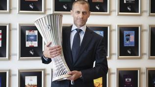 Conference League, la Uefa svela il trofeo della nuova competizione