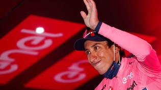 """Bernal: """"Volevo dare spettacolo e mostrare la maglia rosa"""""""