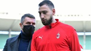 """Maldini saluta Donnarumma: """"Le strade si dividono, non posso che augurargli il meglio"""""""