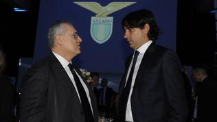 Lazio, accordoLotito-Inzaghi: rinnovo fino al 2024, niente Inter