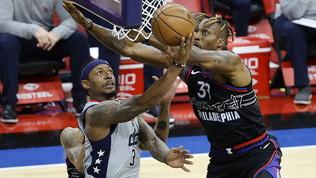Philadelphia vola sul 2-0,Jazz e Knicks ristabiliscono la parità