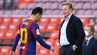 """Laporta: """"Moderatamente ottimista per Messi. Koeman può anche restare"""""""