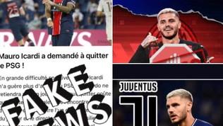 """PSG, Icardi spegne le voci di mercato: """"Ritorno in Italia? Fake news"""""""