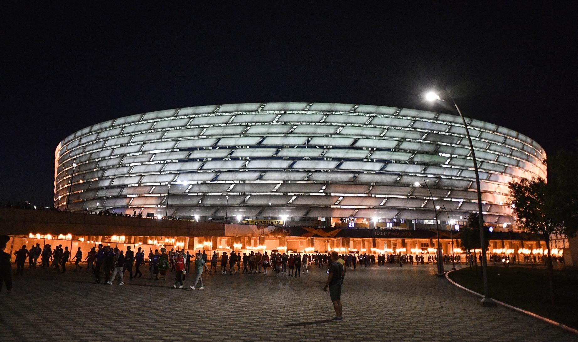 <p>Baku - Baku Olympic Stadium</p>