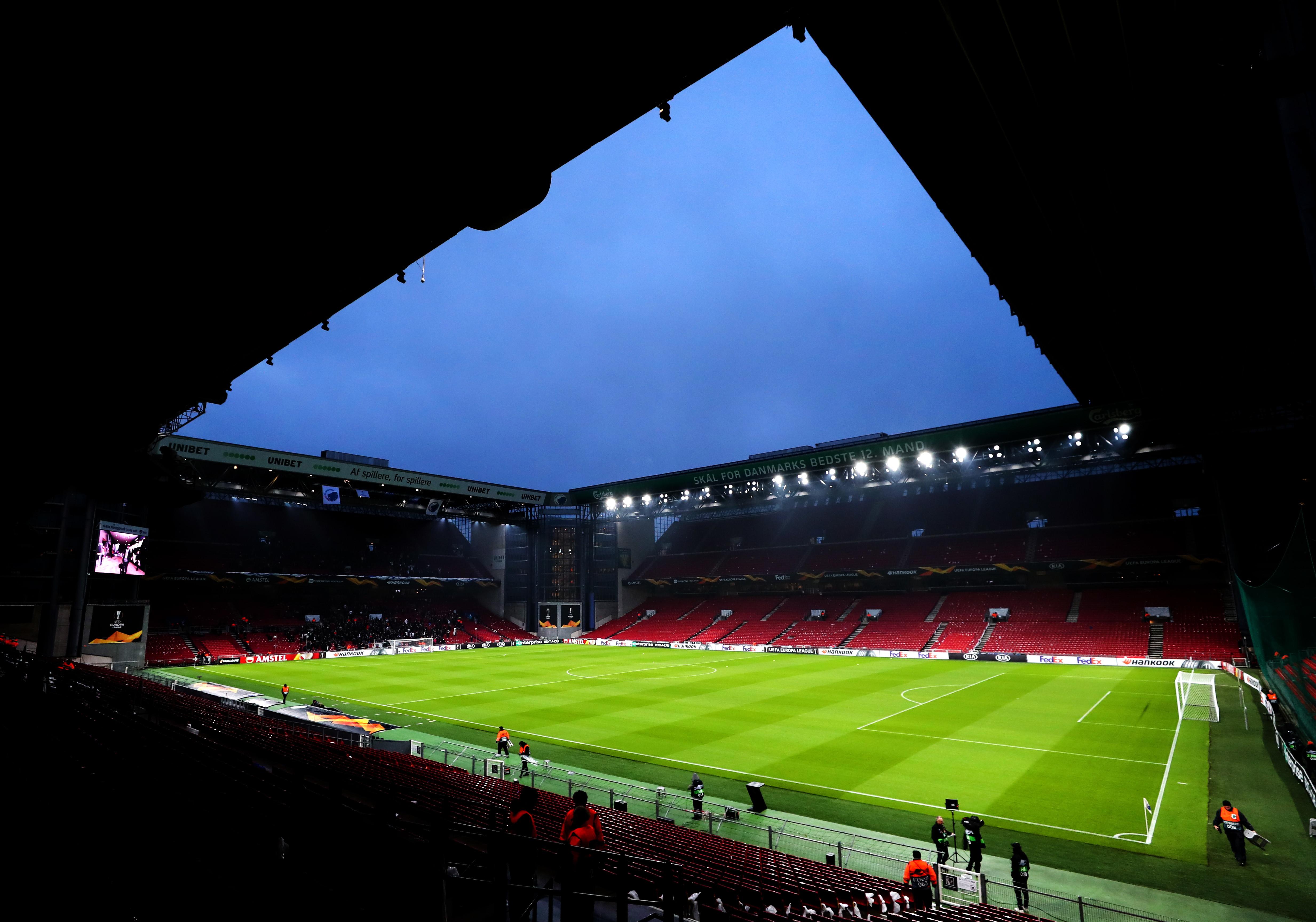 Copenaghen - Parken Stadium